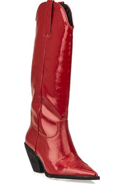Uniquer Kadın Çizme 93481U 3000 Kırmızı