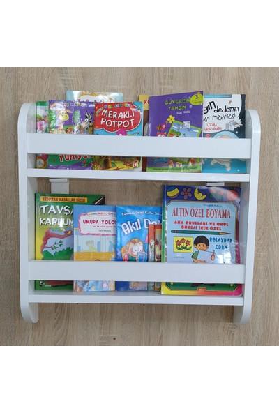 Emdief Home Duru Serisi 2 Raflı Montessori KitaplıkÇocuk Odası Kitaplığı