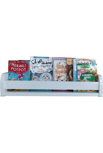 Montessori Duru Serisi Tekli Montessori KitaplıkÇocuk Odası Kitaplığı