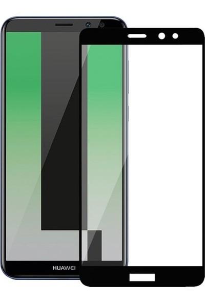 Ehr. Huawei Mate 10 Lite 5D Fiber Nano Ekran Koruyucu Cam - Siyah