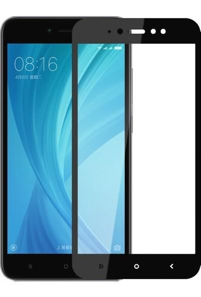 Ehr. Xiaomi Redmi Note 5A 5D Fiber Nano Ekran Koruyucu Cam - Siyah