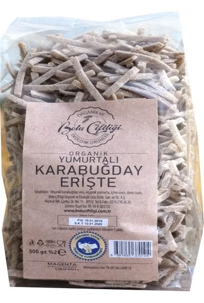 Bolu Çiftliği Erişte Kara Buğday 500 gr