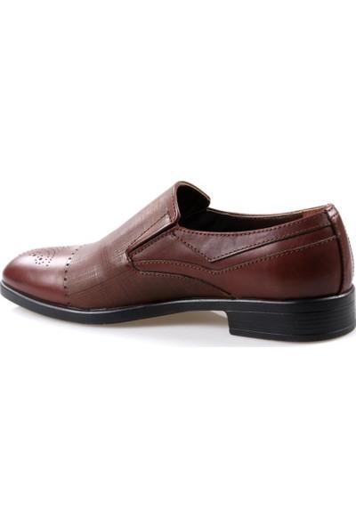 Tardelli 168 Erkek Klasik Kahve Deri Ayakkabı