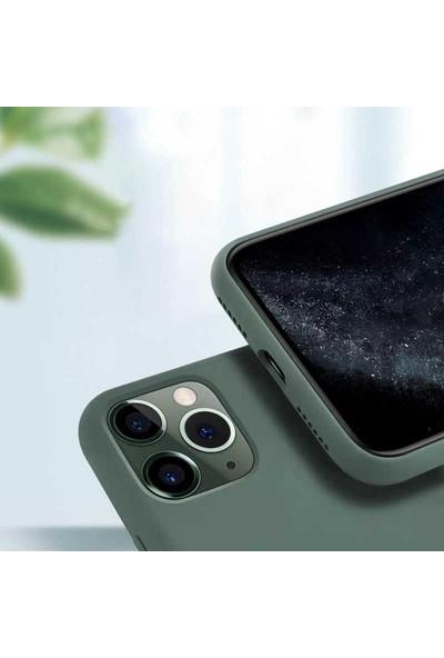 Zore iPhone 11 Pro Silk Silikon Kılıf Siyah