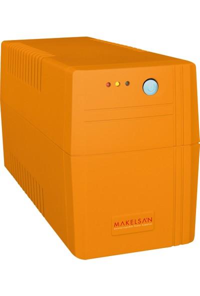 Makelsan Lion 850VA Line Interactive 1x9AH 5-12 Dk Kesintisiz Güç Kaynağı MU00850L11MP005