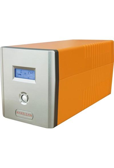 Makelsan Lion 1200VA 2x7AH Line Interactive UPS Güç Kaynağı MU01200L11MP005