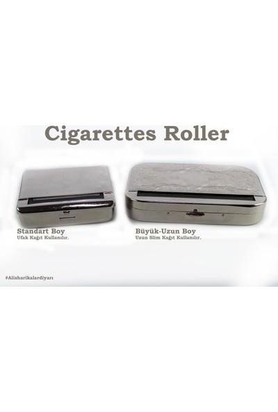 Als Tobacco Büyük Uzun Sigara Sarma Makinesi - Uzun Tütün Sarma Makinesi