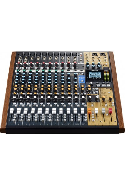 Tascam Model 16 - 14 Kanal Analog Mikser & 16 Kanal Digital Kayıt Özellikli