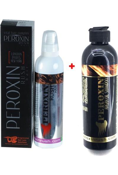 Peroxin Rush Hair Complex Saç Bakım Tentürü + Şampuan Set