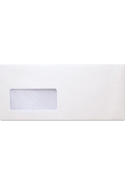 Oyal Diplomat Zarf Beyaz Pencereli 110 gr