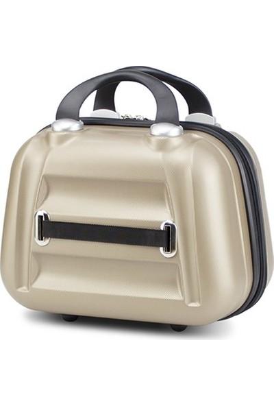 My Valice Smart Bag Exclusive Makyaj Çantası & El Valizi Gold