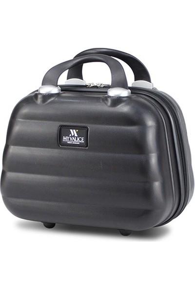 My Valice Smart Bag Colors Makyaj Çantası & El Valizi Siyah