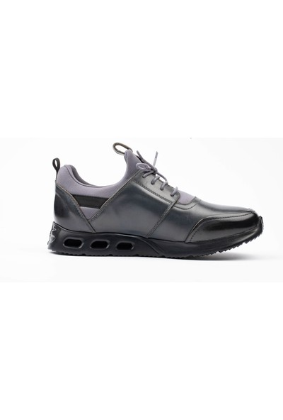 New Bota Erkek Gri Sneaker Ayakkabı 10601 -1619