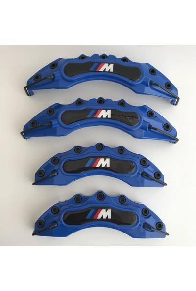 Newdizayn Kaliper Kapağı 4'lü Set Takım M Technic Mavi Renk
