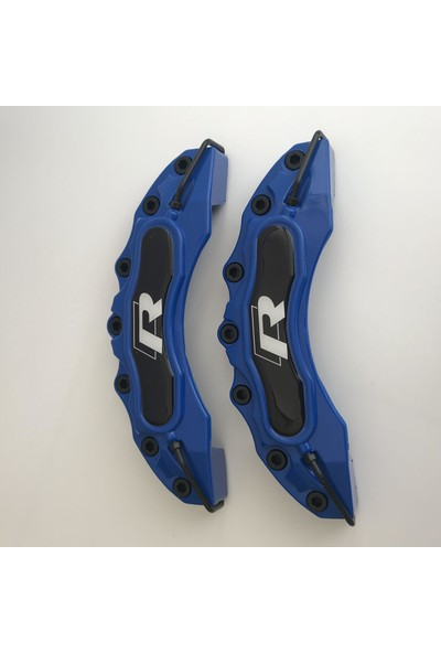 Newdizayn Kaliper Kapağı 4'lü Set Takım R Line Mavi Renk
