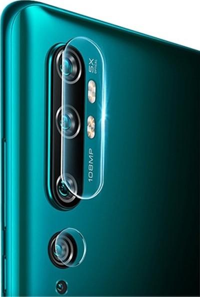 Ally Xiaomi Mi Note 10 Tempered Kamera Koruyucu Cam AL-31656
