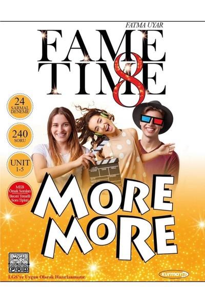 Kurmay Yayınları More & More Fame Time LGS 8.Sınıf İngilizce Deneme