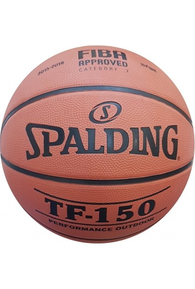 Spalding Basket Topu Tf-150 Perform Sıze 5 Fıba Logo 83-599Z Basketbol Topu