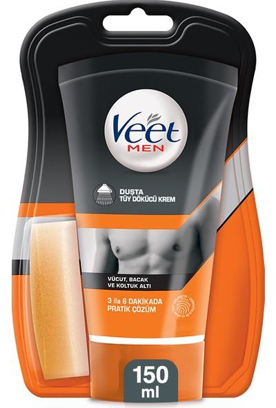 Veet Men Duşta Tüy Dökücü Krem 150 ml Erkeklere Özel