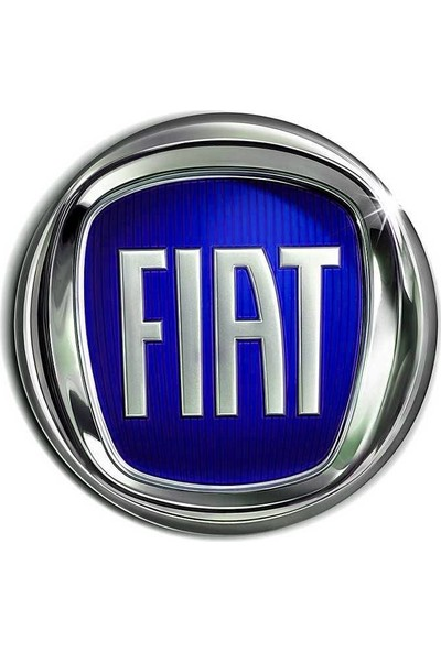 ModaCar Fiat Araçlara Mavi 9 Cm Panjur Arması 427951