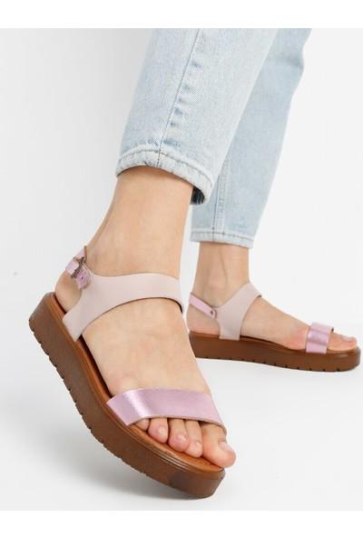 Ayakkabı Frekansı Maria Deri Sandalet