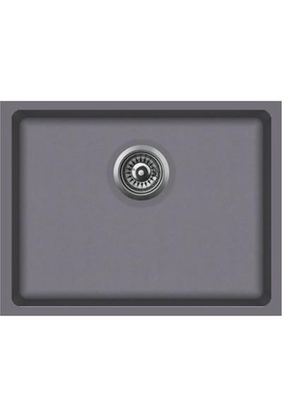 Polex Alttan Yapıştırma Granit Eviye 55,5 x 43,5 cm