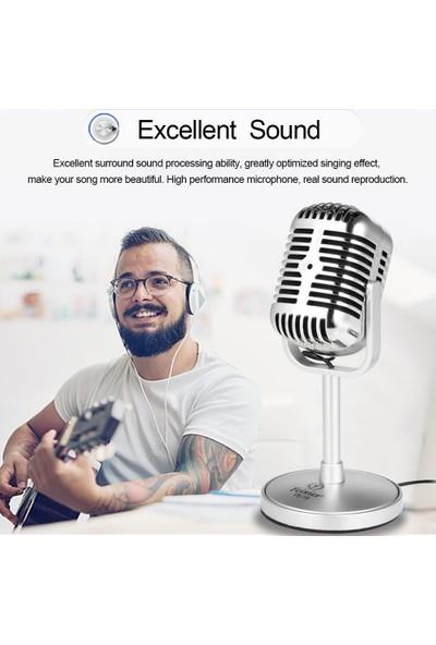 Coverzone Masaüstü Kayıt Mikrofon