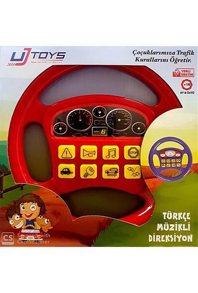 Uj Toys Türkçe Müzikli Direksiyon