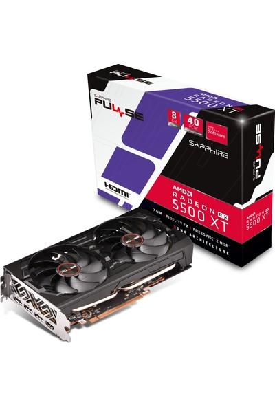 Sapphire Pulse AMD Radeon RX5500 XT 8GB 128Bit GDDR6 PCI-E 4.0 Ekran Kartı 11295-01-20G