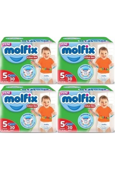 Molfix Külot Bez 5 Numara 30*4=120