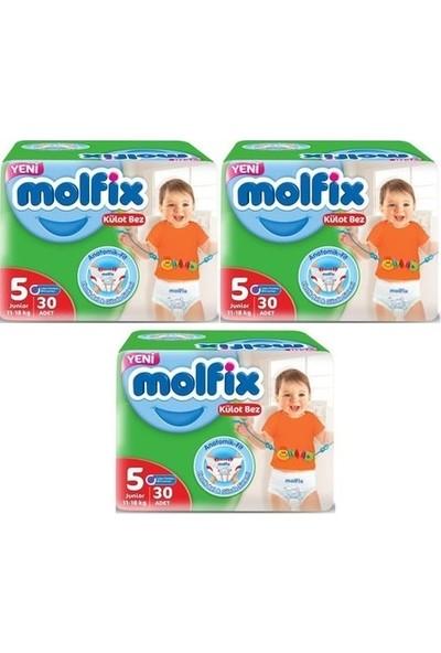 Molfix Külot Bez 5 Numara 30*3=90