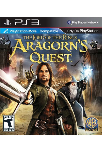 The Lord Of The Rings Aragorns Quest PS3 Oyun
