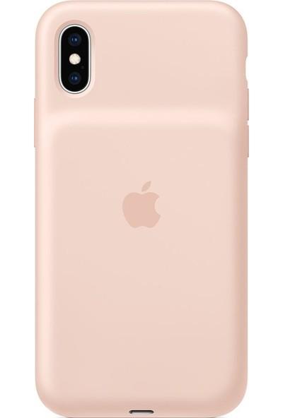 Apple iPhoneXS SmartBatteryCaseKılıf KumPembesi - MVQP2TU/A
