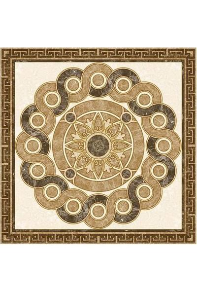 Mossaıca Yer Dekor Abant Seramik Granit Dekor 120 x 120 cm