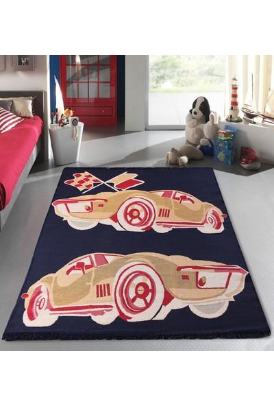 Markamanzi Collection Sport 120 x 180 cm Çift Taraflı Çocuk Odası Kilimi