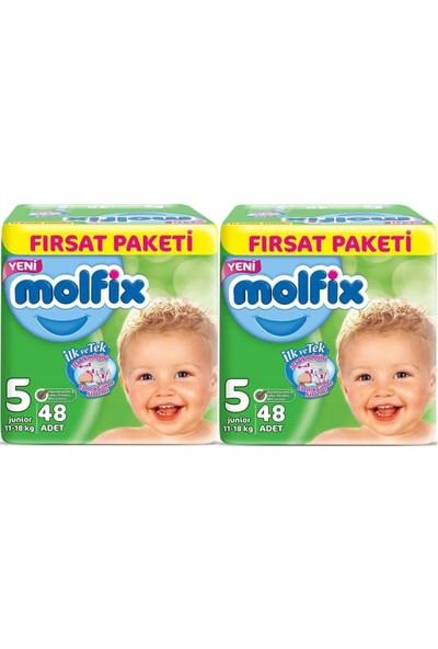 Molfix 5 Numara 48*2=96 Bebek Bezi