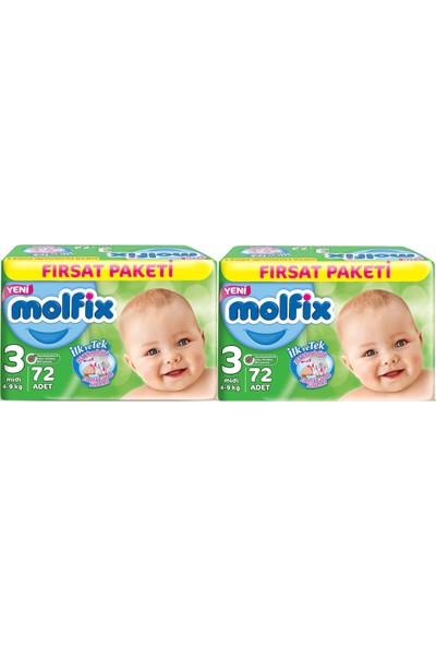 Molfix 3 Numara 72*2=144 Bebek Bezi