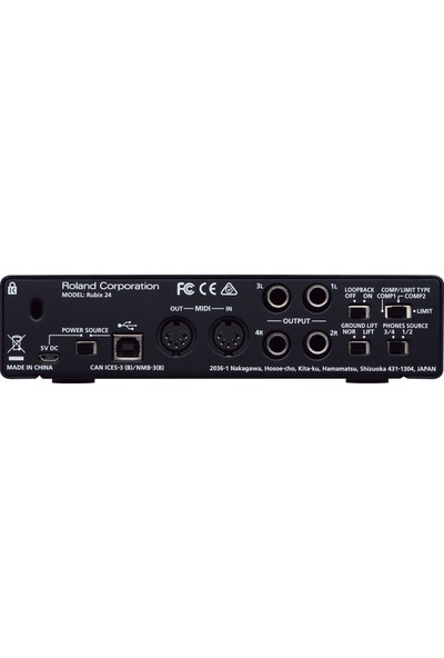 Roland Rubix 24 2 Kanal Ses Kartı