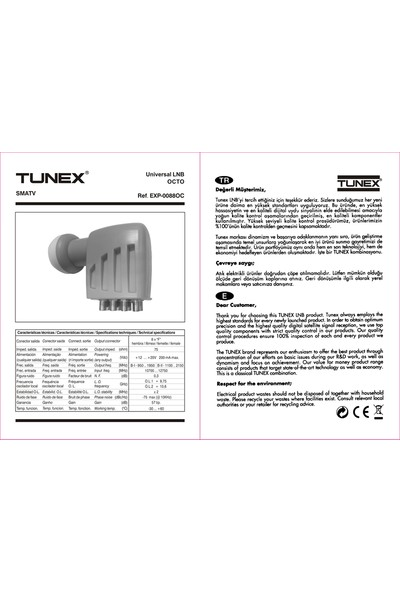 Tunex Octo Lnb