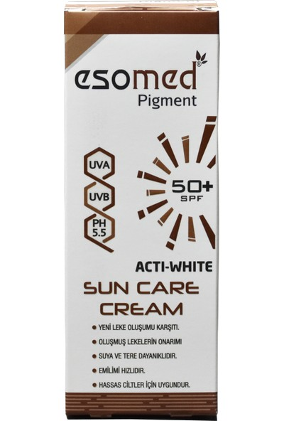 Esomed Pigment Sun Care Cream