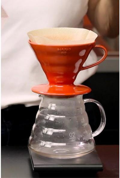 Epinox Seramik Kahve Demleyici Dripper Beyaz