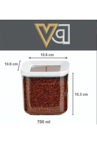 Vip Ahmet Erzak Kavanozları Baharatlık 700 ml x 3 Adet