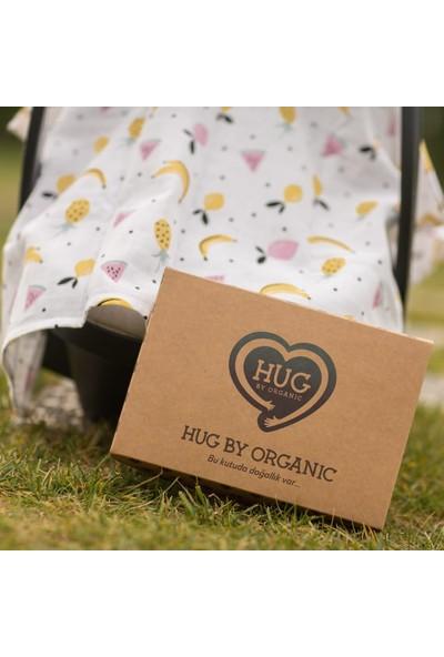 Hug By Organic Meyveli Müslin Puset Örtüsü