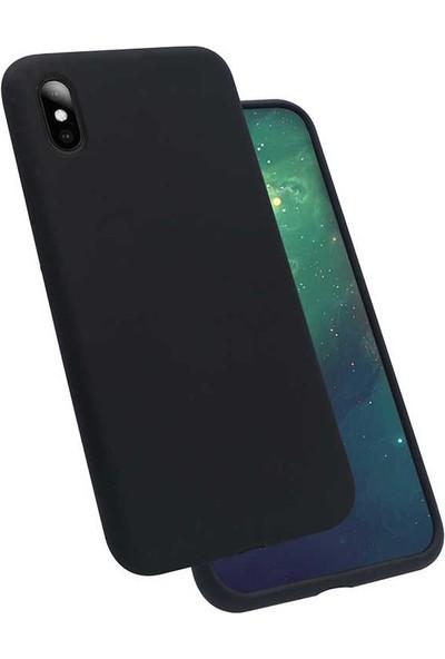 Zore iPhone X Silikon Kılıf - Siyah