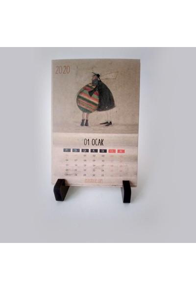 Zeze Aşkın Sam Hali - Masa Takvimi 2020