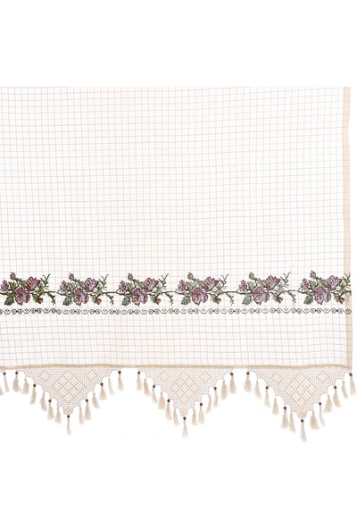 Tuncay Tekstil Buldan Kaneviçeli Otantik Perde