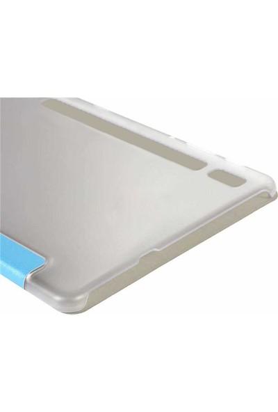 Microsonic Samsung Galaxy Tab S6 10.6'' T860 Smart Case Arka Kılıf Pembe