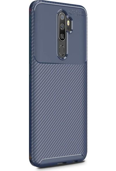 Microsonic Oppo A9 2020 Kılıf Legion Series Lacivert