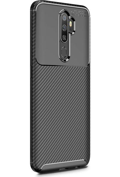 Microsonic Oppo A5 2020 Kılıf Legion Series Siyah