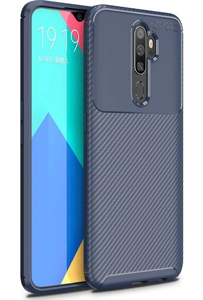 Microsonic Oppo A5 2020 Kılıf Legion Series Lacivert